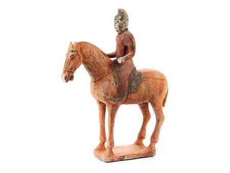 Reiterfigur zu Pferd