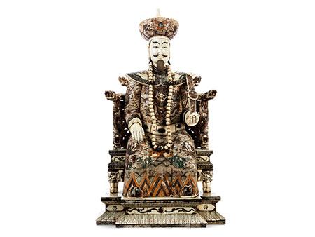 Kaiser mit Zepter