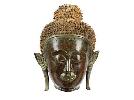 Kopf des Buddha