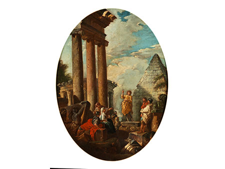Giovanni Paolo Pannini, 1691 Piacenza – 1765 Rom, zug./ Werkstatt des