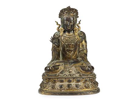 Buddha im Vitarka Mudra