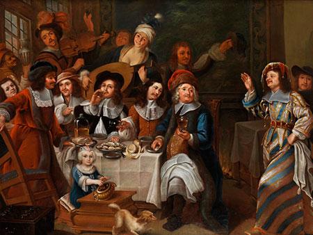 Haarlemer Meister des 17. Jahrhunderts im Nachfolgekreis des Gerrit van Honthorst