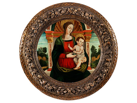 Fra Diamante, eigentlich Diamante di Feo, um 1430 Terranuova – um 1498 oder Kreis des Filippino Lippi, um 1457 Prato - 1504 Florenz