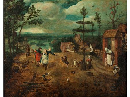 Jan van Amstel, ca. 1500 Amsterdam – ca. 1540 Antwerpen, zug.