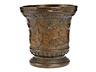 Detail images: Seltener Bronzemörser