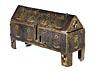 Detail images: Museales Limoges-Reliquienkästchen