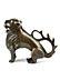 Detail images: Gotischer Bronzelöwe