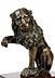 Detail images: Florentiner Bronzelöwe