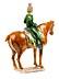 Detail images: Terrakottafigur einer Reiterin