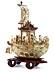 Detail images: Boot mit daoistischen Gottheiten