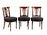 Detail images: Satz von zwölf Stühlen im Empire-Stil