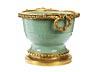 Detail images: Große gebauchte Seladon-Vase