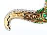 Detail images: Smaragd-Brillantarmreif von Michele della Valle