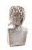 Detail images: Weiße Marmorbüste eines Satyr
