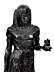 Detail images: Paar ägyptische Skulpturen im Empire-Stil