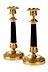 Detail images: Paar französische klassizistische Kerzenstöcke
