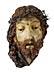 Detail images: Christuskopf in Wachs