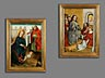 Detail images: Paar Altartafeln des 15. Jahrhunderts