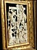 Detail images: Elfenbein-Reliefschnitzerei mit Darstellung der Kreuzabnahme Christi in vergoldetem Kastenrahmen