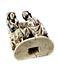 Detail images: Elfenbeingruppe der Marienkrönung