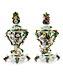 Detail images: Paar überaus prächtige Meissner Potpourri-Vasen