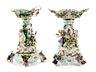 Detail images: Paar große Prunktafelaufsätze in Porzellan
