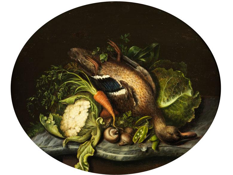 Stilllebenmaler des 19. Jahrhunderts, wohl Wien