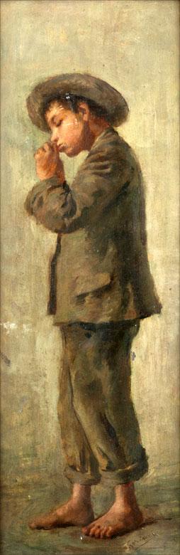 Italienischer Maler des Realismus