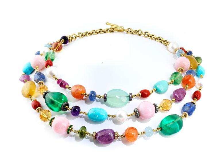 Multicolor-Collier