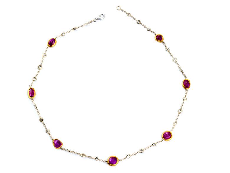 Rubin-Diamant-Collierchen