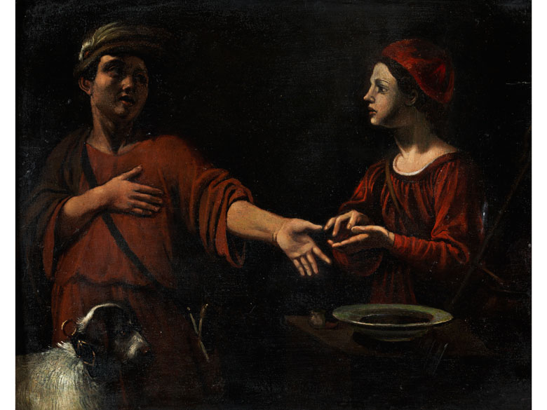 Pietro Paolini, 1603 Lucca – 1681, zug./ Kreis des