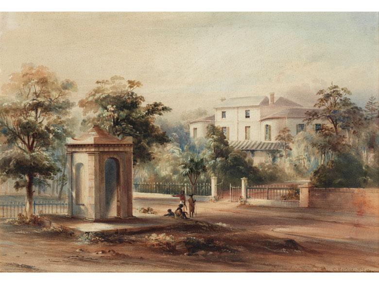 Conrad Martens, 1801 England – 1878 Sydney