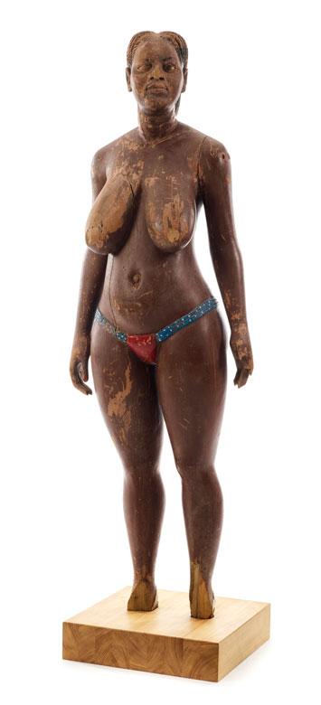 Afrikanische Schnitzfigur