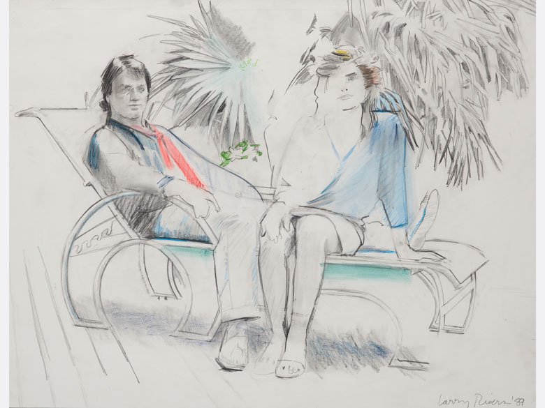 Larry Rivers, 1923 New York City – 2002 ebenda