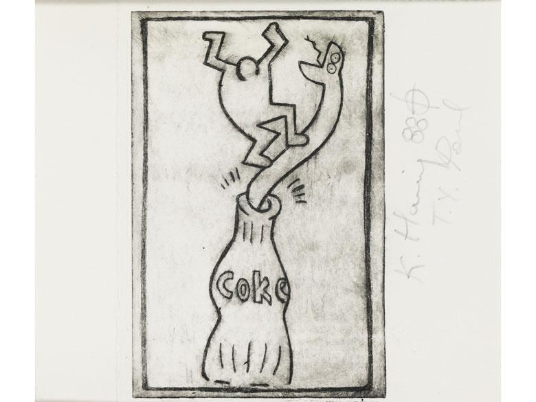 Keith Haring, 1958 Reading/ Pennsylvania – 1990 New York City