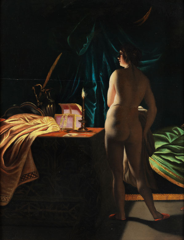 Maler des 19. Jahrhunderts in der Art von Petrus van Schendel, 1806 – 1870