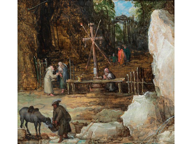 Jan Brueghel d. Ä. 1568 – 1625, in Zusammenarbeit mit Joos de Momper (1564 - 1635)