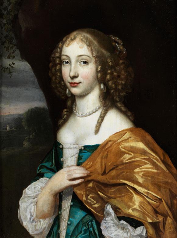 Caspar Netscher, 1635/39 Heidelberg – 1684 Den Haag, zug.