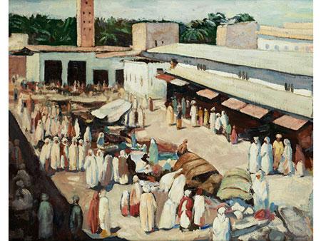 Orientalistischer Maler des beginnenden 20. Jahrhunderts