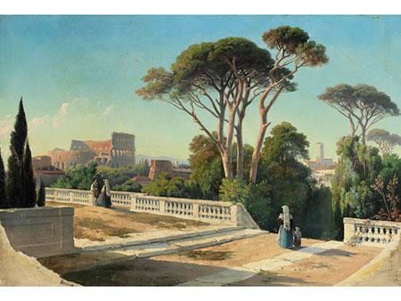 Johann Jakob Frey, 1813 Basel – 1865 Frascati