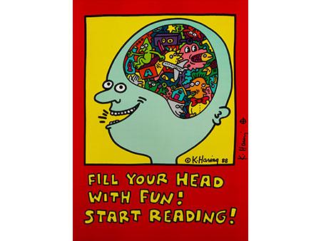 Keith Haring, 1958 Reading/ Pennsylvania – 1990 New York City.