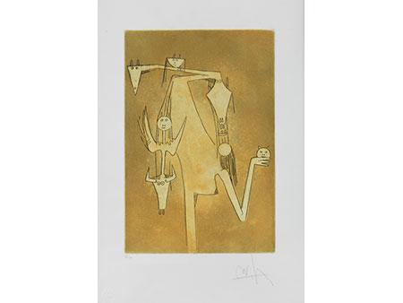 Wifredo Lam, 1902 Sagna la Grande/ Kuba – 1982 Paris