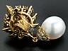 Detail images: Perl-Diamantohrhänger von Van Cleef & Arpels