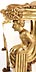 Detail images: Klassizistische Garnitur, vgl. Palazzo Ducale, Lucca, Italien