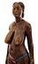 Detail images: Afrikanische Schnitzfigur