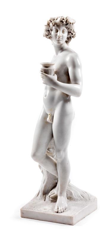 Marmorfigur des jugendlichen Dionysos