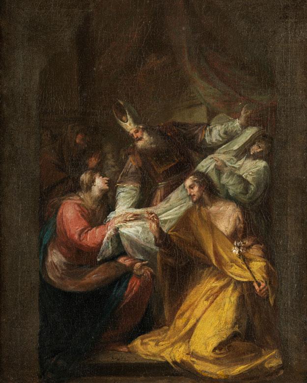 Italienischer oder böhmischer Maler des 18. Jahrhunderts