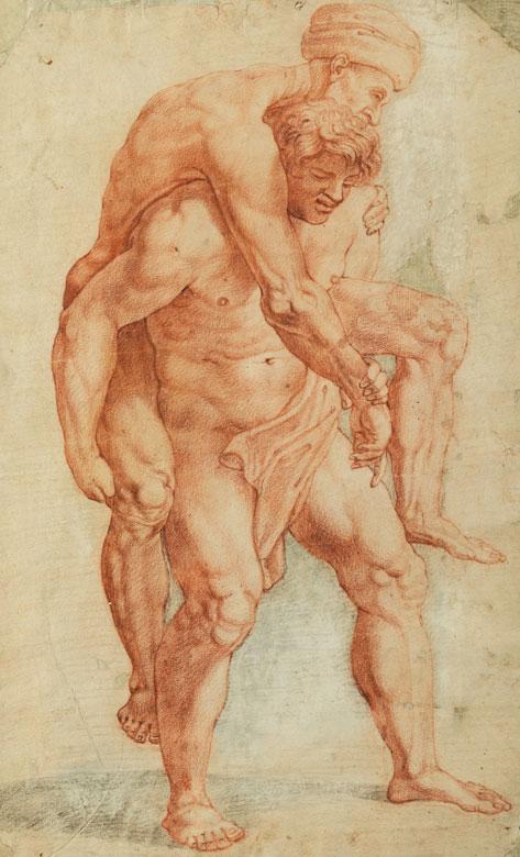 Italienischer Maler aus dem Kreis von Pontormo, 1494 – 1556/57
