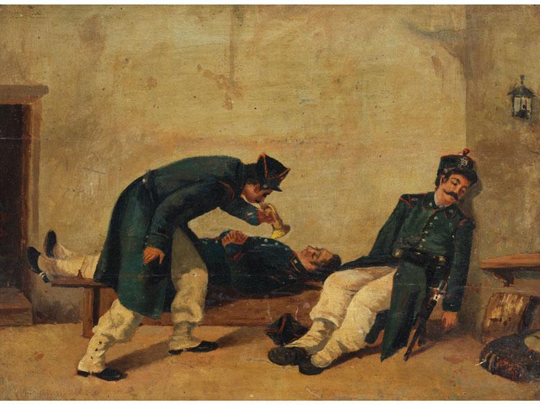 Michele Cammarano, 1835 Neapel – 1920