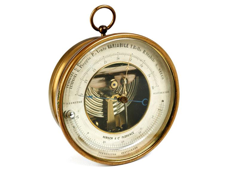 Barometer-Thermometer